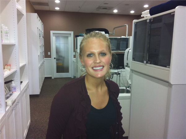 Dr. Soberay uses ceramic braces to improve adult patient experience during orthodontic care.