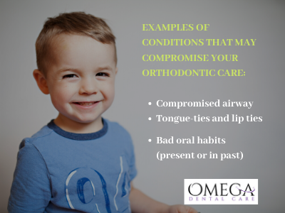Copy of EXAMPLES OF CONDITIONS THAT MAY COMPROMISE YOUR ORTHODONTIC CARE_
